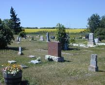 North elevation of the Fleming Cemetery.; Government of Saskatchewan, Brett Quiring, 2006.