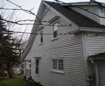 Side Elevation, Terrace Cottage, Chester, Nova Scotia, 2007.; Heritage Division, Nova Scotia Department of Tourism, Culture and Heritage, 2007.