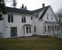 Southern Elevation, Terrace Cottage, Chester, Nova Scotia, 2007.; Heritage Division, Nova Scotia Department of Tourism, Culture and Heritage, 2007.