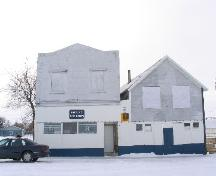 Front exterior view of Harper's Store; Government of Saskatchewan, J. Kasperski, 2003.