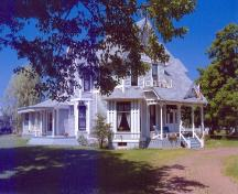 Showing south west elevation; Alberton Historical Preservation Foundation, 2006