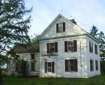 W. Albert Smith House - Front facade of the house on High Marsh Road; Town of Sackville