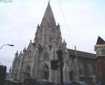Front and east elevation, St. Mary's Basilica, Halifax, Nova Scotia, 2004.; Heritage Division, NS Dept. of Tourism, Culture and Heritage, 2004.