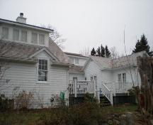Rear Elevation, Taffrail Cottage, Chester, Nova Scotia, 2007.; Heritage Division, Nova Scotia Department of Tourism, Culture and Heritage, 2007.