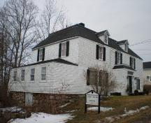 Central Street Side and Front Elevations, Lordly House, Lordly House Museum Complex, Chester, Nova Scotia, 2007.; Heritage Division, Nova Scotia Department of Tourism, Culture and Heritage, 2007.
