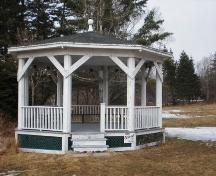 Bandstand, Lordly House Museum Complex, Chester, Nova Scotia, 2007.; Heritage Division, Nova Scotia Department of Tourism, Culture and Heritage, 2007.
