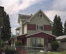Exterior view of the John F. Burne House, 2005; City of Kelowna, 2005