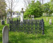 Cemetery, Saint Edward's Anglican Church, Clementsport, Nova Scotia, 2005. ; Heritage Division, NS Dept. of Tourism, Culture and Heritage, 2005.