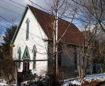 Front Elevation, Old Methodist Church, Chester, Nova Scotia, 2007.; Heritage Division, Nova Scotia Department of Tourism, Culture and Heritage, 2007.
