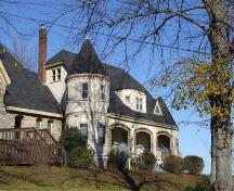 Glebe House, Saint John the Evangelist Roman Catholic Church, Windsor, Nova Scotia, 2006.  ; Heritage Division, NS Dept. of Tourism, Culture and Heritage, 2006.