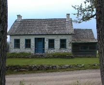 Ministers Island - Home of Anglican minister Samuel Andrews, 2002; PNB