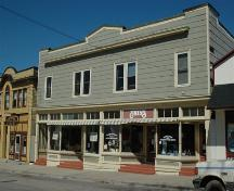 Front elevation of the Hardwick building, Annapolis Royal, Nova Scotia; Heritage Division, NS Dept. of Tourism, Culture and Heritage, 2007