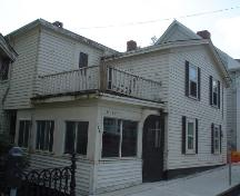 Bailly House, Old Town Lunenburg, front Prince Street, 2004; Heritage Division, Nova Scotia Department of Tourism, Culture and Heritage, 2004