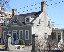 Front and west elevation, Thorndean, Inglis Street, Halifax, 2007.; Heritage Division, NS Dept. of Tourism, Culture and Heritage, 2007.