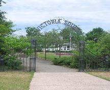 Victoria Square, formal entrance, 2004; Heritage Division, N.S. Dept. of Tourism, Culture and Heritage, 2004