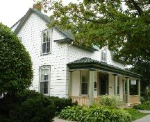 View of side and front porch; Rideau Heritage Initiative