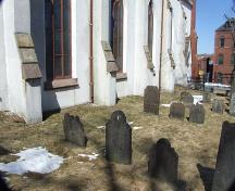 Cemetery, Grafton Street Methodist Church, Halifax, Nova Scotia, 2007. ; Heritage Division, NS Dept. of Tourism, Culture and Heritage, 2007.