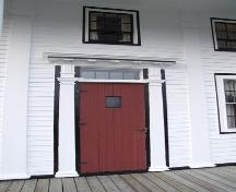 Front entrance, Reverend James Smith Property, Upper Stewiacke, Nova Scotia, 2006.; Heritage Division, NS Dept. of Tourism, Culture and Heritage, 2006.
