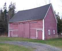 Barn, Reverend James Smith Property, Upper Stewiacke, Nova Scotia, 2006. ; Heritage Division, NS Dept. of Tourism, Culture and Heritage, 2006.