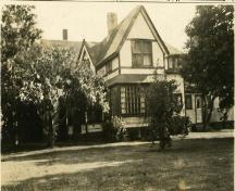 1920s image - sun porch addition; Town of Sackville