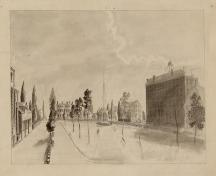 Hillsborough Square by Robert Harris; Confederation Centre Art Gallery (CAG H-221)