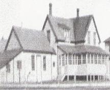 Ancienne photo de la maison; Gérald Brideau
