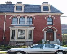 Front elevation, West-Buley House, 2146 Brunswick Street, Halifax, NS, 2006.; Heritage Division, NS Dept. of Tourism, Culture and Heritage, 2006.