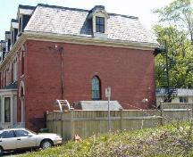 North elevation, West-Buley House, 2146 Brunswick Street, Halifax, NS, 2006. ; Heritage Division, NS Dept. of Tourism, Culture and Heritage, 2006.