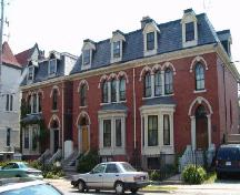 West-Webster, West-Osler and West-Buley Houses, 2138, 2140 and 2146 Brunswick Street, Halifax, Nova Scotia, 2006. ; Heritage Division, NS Dept. of Tourism, Culture and Heritage, 2006.