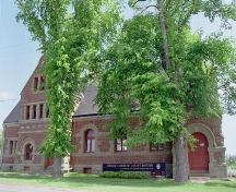 Front view of the Kings County Courthouse; Province of PEI, 1999