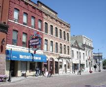 Buildings within the district; Rideau Heritage Initiative