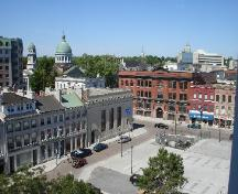 View of Market Square; Rideau Heritage Initiative