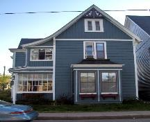 Showing east elevation; City of Charlottetown, Natalie Munn, 2007