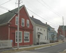 Streetscape of 174 St George Street, Annapolis Royal, Nova Scotia.; Heritage Division, NS Dept. of Tourism, Culture and Heritage, 2007