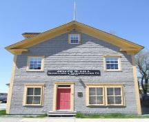 Front elevation, McGill Office Building, Shelburne, Nova Scotia, 2007. ; Heritage Division, NS Dept. of Tourism, Culture and Heritage, 2007.