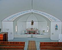 Interior view of Ste. Therese Roman Catholic Church, Cardinal, 2006; Historic Resources Branch, Manitoba Culture, Heritage and Tourism, 2006