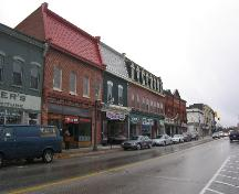 Looking west along King Street West; Municipality of Clarington