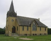 South Elevation of New Stockholm Lutheran Church, 2006.; Government of Saskatchewan, Brett Quiring, 2006
