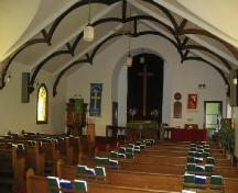 Main floor of New Stockholm Lutheran Church, 2006.; Government of Saskatchewan, Brett Quiring, 2006.