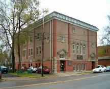 West elevation, Lyceum, Sydney, N.S., 2004,; Heritage Division, Nova Scotia Department of tourism, Culture and Heritage, 2004.
