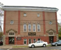 Lyceum front elevation, Sydney, N.S., 2004.; Heritage Division, Nova Scotia Department of Tourism, Culture and Heritage, 2004.