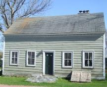 Front elevation, Shakepsear House, Shelburne, Nova Scotia, 2007. ; Heritage Division, NS Dept. of Tourism, Culture and Heritage, 2007.