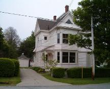 North and west elevation, Augustus Cann Estate, Yarmouth, Nova Scotia, 2004. ; Heritage Division, NS Dept. of Tourism, Culture and Heritage, 2004.