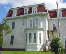 Side view with bay window; Town of St. Stephen