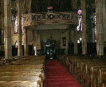 Assumption's magnificent interior includes fine wood carvings, paintings and statues.; City of Windsor, Nancy Morand