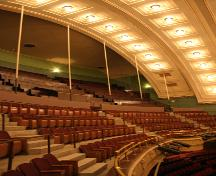 Interior view of the Walker Theatre, Winnipeg, 2005; Historic Resources Branch, Manitoba Culture, Heritage and Tourism, 2005