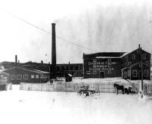 Prior to fire in 1908; Phyllis Stopps