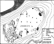 Lawson Site Plan 2003; London Museum of Archaeology, 2003