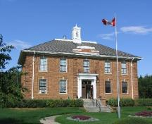 Shaunavon Courthouse, 2006.; Government of Saskatchewan, Bernard Flaman, 2006.