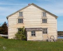Exterior photo view of Robert Tilley House showing front, Elliston, NL, 2007/06/16; L Maynard, HFNL 2007